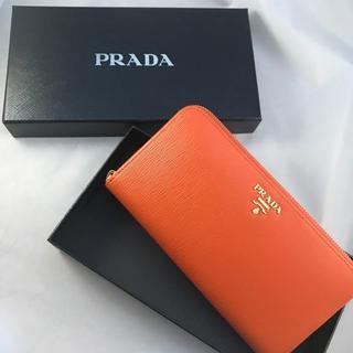 プラダ(PRADA)の【新品未使用】PRADA/プラダ レディース長財布 1ML506(財布)