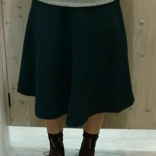 ジエンポリアム(THE EMPORIUM)のジ•エンポリアム☆緑ミディ丈スカート(ひざ丈スカート)