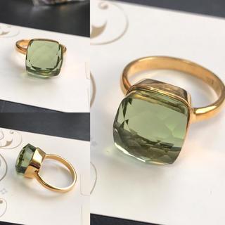 【再々入荷】グリーンアメジストのリング(リング(指輪))