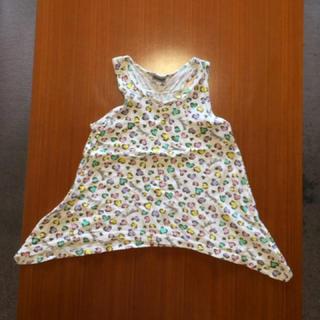シマムラ(しまむら)の美品 タンクトップ 100(Tシャツ/カットソー)