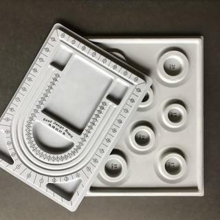 デザイン ボード(ブレスレット・ネックレス用)2点セット(型紙/パターン)