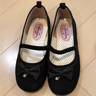 マザウェイズ(motherways)のマザウェイズ 靴 黒 22㎝(スニーカー)