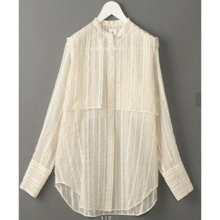 ビューティアンドユースユナイテッドアローズ(BEAUTY&YOUTH UNITED ARROWS)の値下げ↓6 roku suke shirt White(シャツ/ブラウス(長袖/七分))