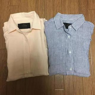 ノーブル(Noble)のNoble  リネンシャツ 2枚セット(シャツ/ブラウス(長袖/七分))