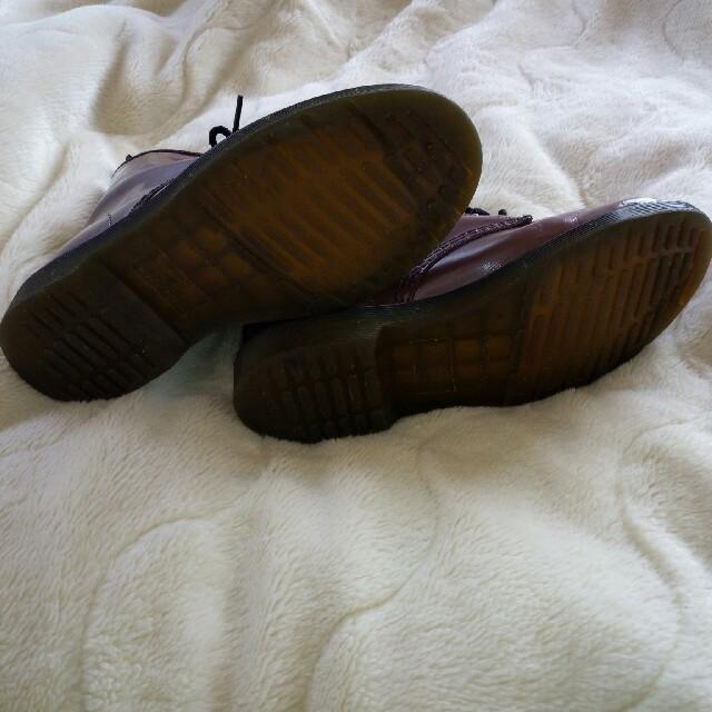 Dr.Martens(ドクターマーチン)のドクターマーチン(赤紫)定番の8ホール レディースの靴/シューズ(ブーツ)の商品写真