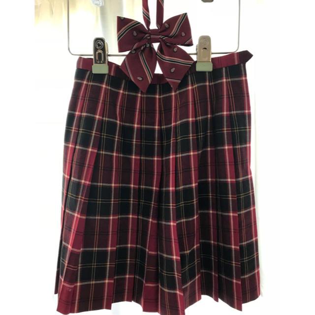 EASTBOY(イーストボーイ)のEAST BOY スカート&リボン レディースのスカート(ひざ丈スカート)の商品写真