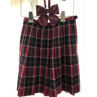 イーストボーイ(EASTBOY)のEAST BOY スカート&リボン(ひざ丈スカート)