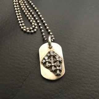 クロムハーツ(Chrome Hearts)のクロムハーツ ドッグタグ ネックレス(ネックレス)