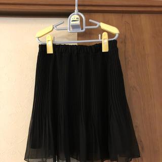 アクアネーム(AquaName)の一度使用 アクアネーム スカート 黒(ミニスカート)
