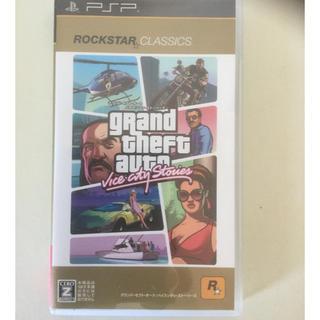 プレイステーションポータブル(PlayStation Portable)のグランドセフトオート バイスシティ ストーリーズ(家庭用ゲームソフト)