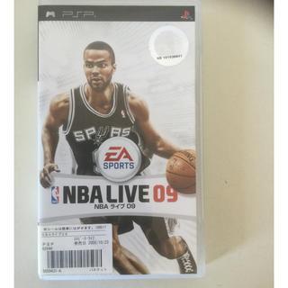 プレイステーションポータブル(PlayStation Portable)のNBA LIVE09(携帯用ゲームソフト)