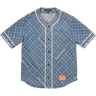 シュプリーム(Supreme)のシュプリーム ヴィトンベースボールシャツ(シャツ)