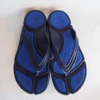 クロックス(crocs)のビーチサンダル crocs メンズ 青(サンダル)