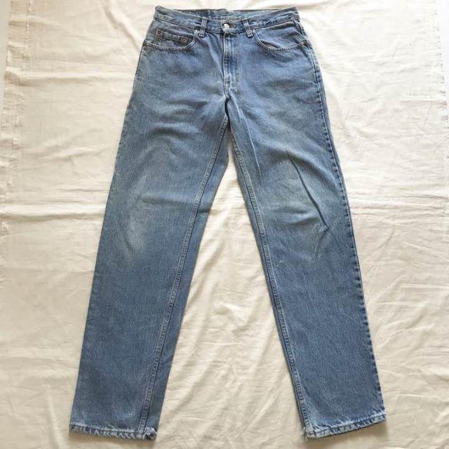Levi's(リーバイス)のユーロ リーバイス550 ワイド バギー デニム 90's ヴィンテージ レディースのパンツ(デニム/ジーンズ)の商品写真
