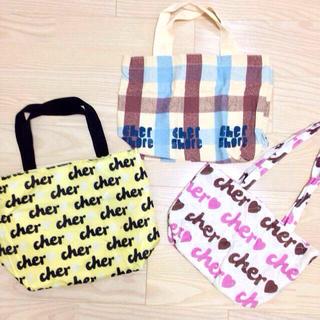 シェル(Cher)のcher*トートバッグ all 555円(トートバッグ)