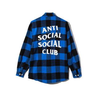 アンチ(ANTI)のアンチソーシャルクラブ フランネルシャツ 2018SS(シャツ)