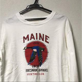 バーンズアウトフィッターズ(Barns OUTFITTERS)の【barns】オーバーサイズシャツ(Tシャツ/カットソー(七分/長袖))