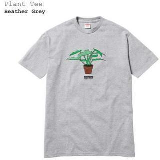 シュプリーム(Supreme)の送料込SUPREME Plant TeeシュプリームTシャツグレーS(Tシャツ/カットソー(半袖/袖なし))