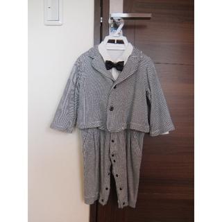 0b882c83e833a ベルメゾン(ベルメゾン)のベビーフォーマル 蝶ネクタイ付きセットアップ 90サイズ(ドレス