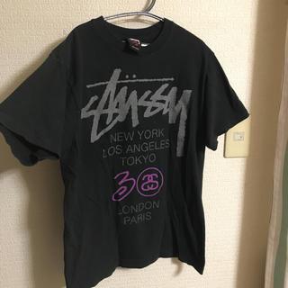 ステューシー(STUSSY)の【12時間以内限定値下げ!】STUSSYロゴTシャツ(Tシャツ/カットソー(半袖/袖なし))
