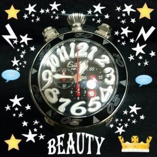 ガガミラノ(GaGa MILANO)のGaGa MILANO CHRONO 48mm 6050.8 腕時計 新品(ラバーベルト)