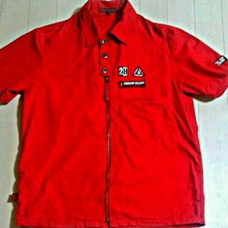 ニーキュウイチニーキュウゴーオム(291295=HOMME)のジャケット アウター シャツ 半袖 ミリタリー 古着 メンズ(ミリタリージャケット)