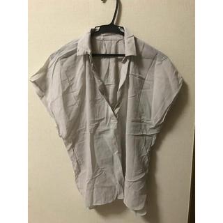 クードシャンス(COUP DE CHANCE)のスキッパーシャツ(シャツ/ブラウス(半袖/袖なし))