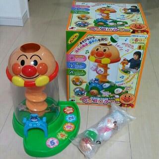 ジョイパレット(ジョイパレット)のsaramama様専用♥美品✴アンパンマン くるコロタワー(知育玩具)