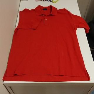 ユニクロ(UNIQLO)のユニクロポロシャツ(キャロットオレンジ)(ポロシャツ)