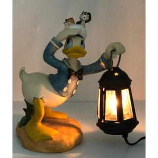 ディズニー(Disney)の( 美品 ) Disney ドナルドダック・チップ&デール  テーブルランプ(テーブルスタンド)