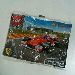 レゴ(Lego)のクウ様専用 LEGO レゴ フェラーリ&タンクローリー 昭和シェル 新品未使用(電車のおもちゃ/車)