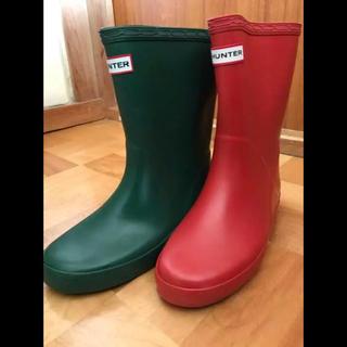 ハンター(HUNTER)のハンター  UK1  21 20 長靴 レインブーツ キッズ 新品 子供 長靴 (長靴/レインシューズ)