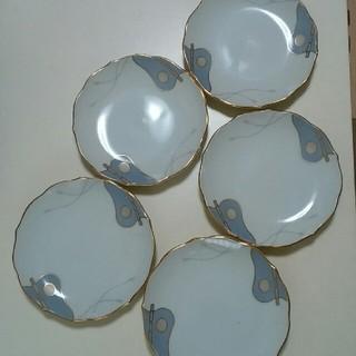相撲 軍配柄 小皿 5枚セット 新品未使用(食器)