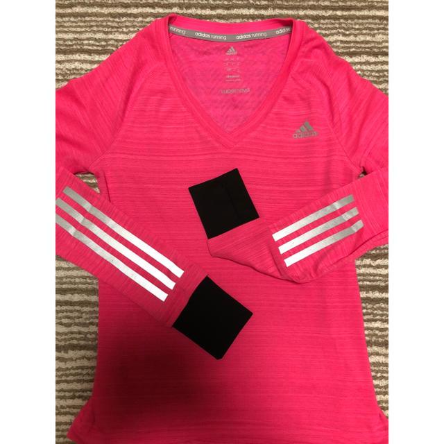 adidas(アディダス)のadidas レディースのトップス(Tシャツ(長袖/七分))の商品写真