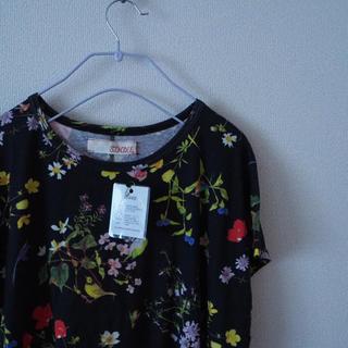 シンディー(SINDEE)の【新品タグ付き】SINDEE ボタニカル柄 Tシャツ(Tシャツ(半袖/袖なし))