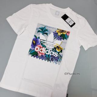 アディダス(adidas)のXS【新品/即日発送OK】adidas オリジナルス Tシャツ フローラル 白(Tシャツ/カットソー(半袖/袖なし))