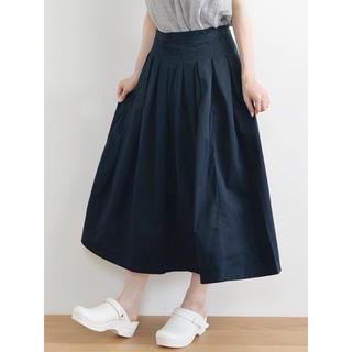 カトー(KATO`)のGRANDMA MAMA DAUGHTER チノ プリーツ ロング スカート(ロングスカート)