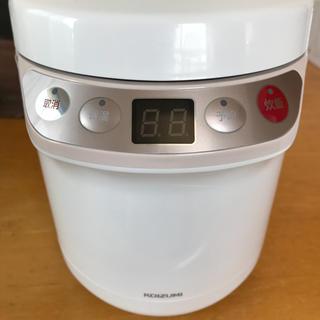 コイズミ(KOIZUMI)のコイズミ ライスクッカー ミニ 1.5合炊き炊飯器(炊飯器)