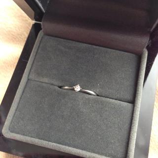 3連休限定値下げ 美品 リング 指輪 ダイヤ ホワイトゴールド(リング(指輪))