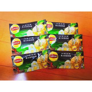 ユニリーバ(Unilever)の台湾限定 ☆ リプトン ジャスミンミルク緑茶 6個入り(茶)