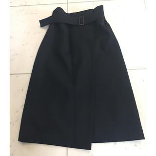 デミルクスビームス(Demi-Luxe BEAMS)のデミルクスビームス ラップ風スカート(ひざ丈スカート)