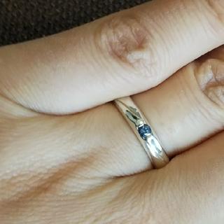 ブルーサファイア シルバー925リング[P168](リング(指輪))