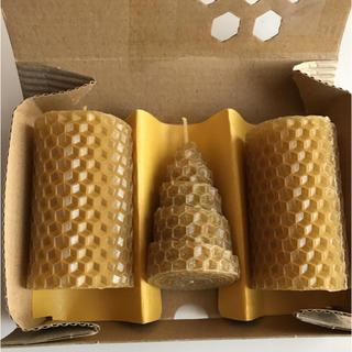 ヤマダヨウホウジョウ(山田養蜂場)の山田養蜂 ビーハッピーキャンドル(キャンドル)