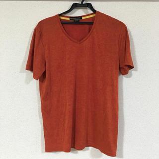 ハイストリート(HIGH STREET)のTシャツ オレンジ 朱色 赤 HIGH STREET(Tシャツ/カットソー(半袖/袖なし))