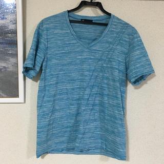 ハイストリート(HIGH STREET)のTシャツ HIGH STREET 水色 (Tシャツ/カットソー(半袖/袖なし))