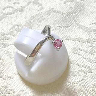 朧様専用❣️プラチナ ピンクサファイヤ リング(リング(指輪))