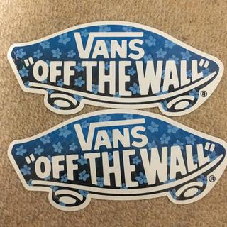 ヴァンズ(VANS)のVANS ステッカー 二枚(その他)