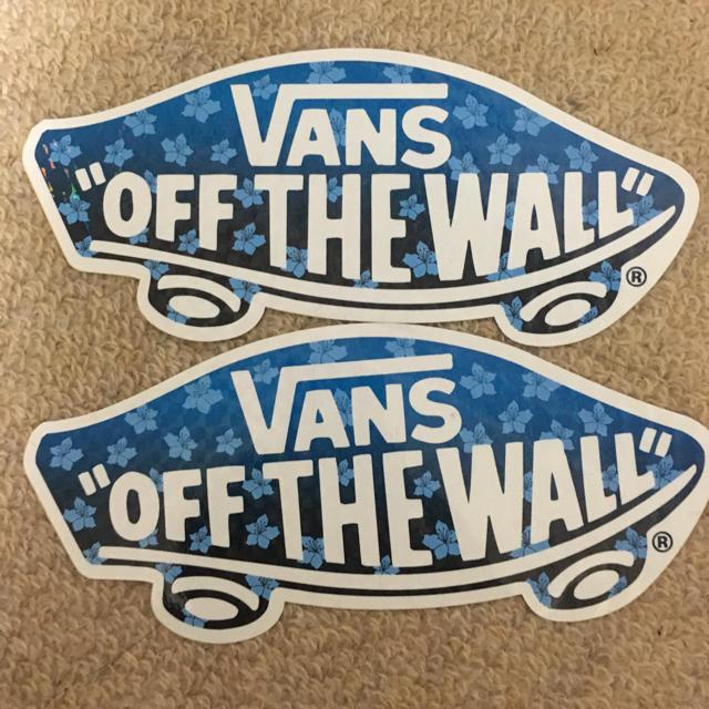 VANS(ヴァンズ)のVANS ステッカー 二枚 その他のその他(その他)の商品写真