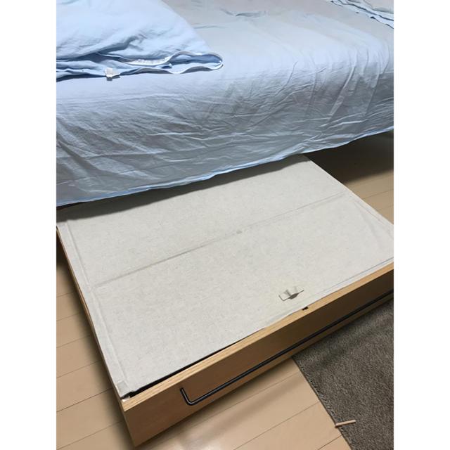MUJI (無印良品)(ムジルシリョウヒン)のベッド下の収納