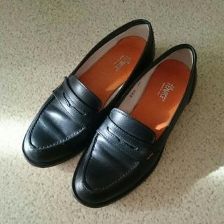 ノートエシロンス(note et silence)のローファー マットブラック(ローファー/革靴)